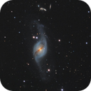 NGC 3718 & NGC 3729 in Ursa Major,                                Steve Milne