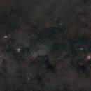 Lagoon nebulae, trifid nebulae, omega nebulae and eagle nebulae..,                                Bach hamba Youssef