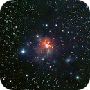 Northern trifid nebula - NGC1579,                                Jean-Marie MESSINA