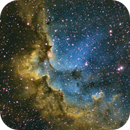 NGC 7380 - Wizard Nebula,                                Charlie Miller