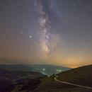 Milky way over Bjelašnica,                                Alan Ćatović