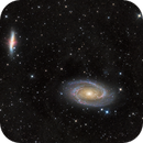 Bodes (M81) and Cigar Galaxy (M82),                                Wirrkopf