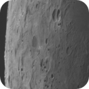 Moons craters  in daylight from france,                                Lionel