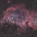 Soul Nebula IC 1848 Ha+OSC (Little Buffalo Orientation),                                Brandon Tackett