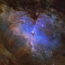 Stellar nursery in M16,                                Diego Gravinese