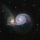 Whirlpool Galaxy - Messier 51,                                Paul Schuberth
