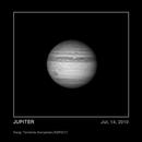 Cambios en Júpiter:  2010 - 2012,                                SERGIT