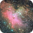 M16: Majestic Eagle in LRGB,                                Lilith Gaither