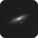 Andromeda Galaxy,                                bbright