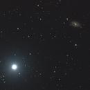 M109 and Phecda - Ursa Major,                                Emmanuel Fontaine