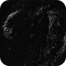 Veil Nebula Hα (BW),                                DerPit