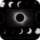 Total Solar Eclipse Collage,                                Gabe Shaughnessy