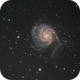 Messier 101, M101, Pinwheel Galaxy,                                James Pelley