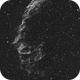 Eastern Veil Nebula in Narrowband Using L-Enhance Filter,                                JDJ