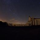 Convento da Orada, Comet Lovejoy, Milky Way,                                João Pedro Bessa