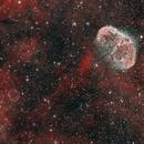 Soap Bubble Nebula PN G 75.5+1.7 (Jurasevich 1) and NGC 6888,                                Mau_Bard