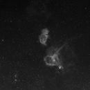 IC1848 und IC1805 H-alpha,                                Gerhard Henning
