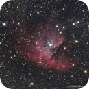 Nebuleuse Pacman (NGC281),                                dsoulasphotographie