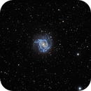 M-83 Southern Pinwheel Galaxy,                                Coenie