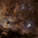 Sadr SHO with Hubble palette,                                Andreas Zeinert