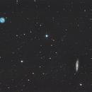 M108 Surfboard Galaxy and M97 Owl Nebula,                                Andrea Pistocchini - pisto92