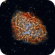 M1 - The Crab nebula - An explosion in Detail!,                                Paddy Gilliland