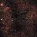 Herschel's Garnet Star and the Elephant Trunk,                                Tesseract