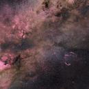NGC 7000, SADR, Deneb,                                AdrienDB