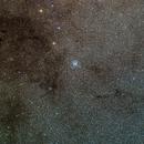 M11 Wild Duck Cluster Wide Field+ (17) Barnard dark nebula,                                hbastro