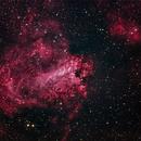M17 Omega nebula,                                Joachim