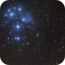 Pleiades cluster and PanSTARRS c/2015 ER61,                                Gianni Cerrato