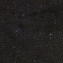 Barnard 13 area ,                                Mark