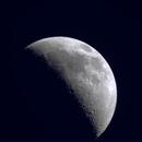 Moon, crescent 39%(+),                                Wouter Cazaux