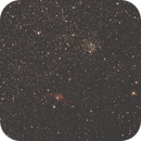 M52 and NGC7635 in Cassiopeia,                                raulgh