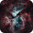 A Dark and Stormy Carina or NGC3372,                                Stuart Markus