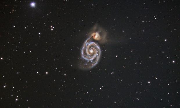 M51 - Merry Christmas,                                nazarine