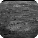 Flight over Langrenus crater, Moon of March 19,                                Georges