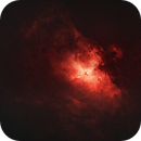 M16 - Eagle Nebula DSLR - Starless,                                nerdybeardo