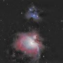 M42 and NGC1973,                                rveregin