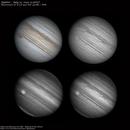 A Jupiter in 4 different views!,                                Fábio