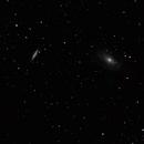 Cigar galaxy (M82) & Bode's Galaxy (M81),                                Christian O. Andersson
