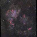 24 panels NGC 7000 HaRGB (137hr TOTAL),                                cguvn
