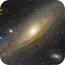 The Great Andromeda Galaxy - M31, M32, M110,                                Gabriel R. Santos...