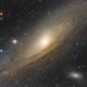 The Great Andromeda Galaxy - M31, M32, M110,                                Gabriel R. Santos...