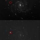 M101 Super Nova Detection,                                dnault42