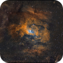 NGC7635 - Bubble Nebula - Hubble Palette,                                Francesco Battistella