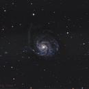 M 101 First light Newton,                                Niko Geisriegler