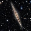 Galaxie NGC 891 dans Andromède,                                Denis Bergeron