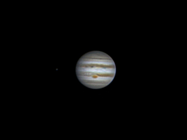 Jupiter, Europa and GRS (10 may 2015, 20:52),                                Star Hunter