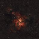 Carina nebula wide view,                                gibran85